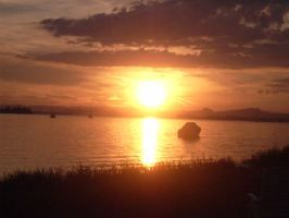 Another sunset lake constance by Mella68