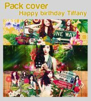 Pack Cover Happy Birthday Tiffany by LinhYul