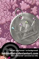 Princess Pendant by inkblotfairy