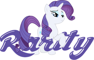 Rarity Logo by BlueHedgedarkAttack