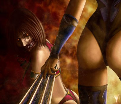 MK Legacy Youre Not My Sister by Esau13
