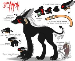 Deamon's New Ref Sheet by ThistleWitch