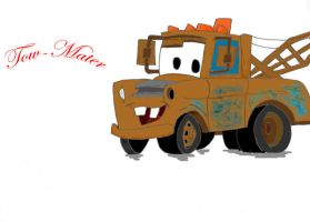 Tow Mater by Famous-Panda