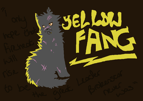 Yellowfang by LexiIsFailingAtThis