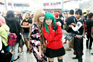 Taiga and Gumi!! by Lawrielle21