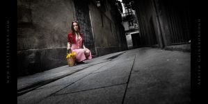 Aerith Cosplay 07 by Bastetsama-Cosplay
