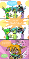 Gift Comic - Magic... Plushies by Genolover