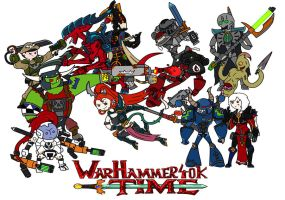 Warhammer 40k time! by thelimeofdoom