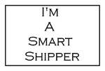 I'm A Smart Shipper Stamp by Carriejokerbates