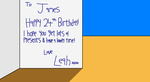 Leah's Done Me A Birthday Card! by theblooman