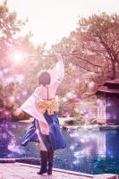 Final Fantasy X - Yuna - IV by Shazzsteel