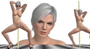 Christie (Dead Or Alive 5U) Nude Mod (Short Hair) by cunihinx