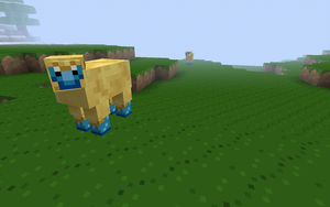 Mareep - Minecraft by gisamer