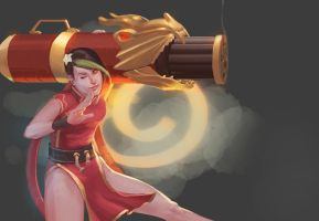 firecracker jinx by Echilo