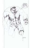 Sketch - Hulk by Assurancetourix