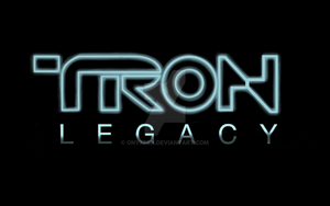 ORIGINAL TRON:Legacy Title Plate by OnyxPen