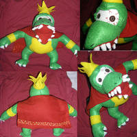 King K. Rool Plush by Dead-Beliefs