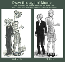 Redraw meme by twapa