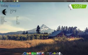 Simple Desktop by thomesss