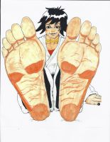 Konnichiwa! I'm Makoto! Do you like my big feet? by TigerTigerUppercut