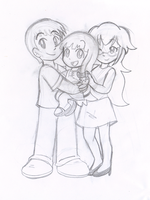 Caines Family Sketch by pheeph
