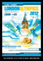 London 2012 Olympics Flyer by Minkki2fly