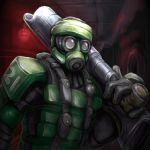 Soldier aboard the Trinity by LordJay