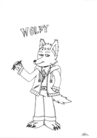Wolfy by EdvinDraw