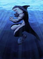 Shark Man by MilwaukeeDriver