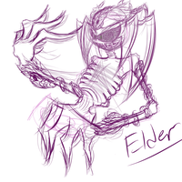Elder Sketch V3 by Mephilez