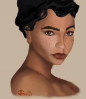 Freckles by gkgaines