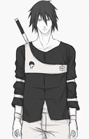 Sasuke (The Last) #3 (Redesign) (Request) by lawlliets