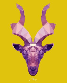 Low Poly Markhor by marky939