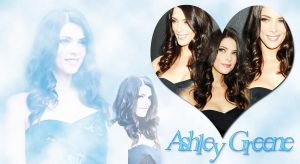 Wallpaper de Ashley Greene 1 by krissslovee