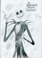 Jack Skellington by mysticm0nkey