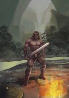 Conan The Barbarian by Norvice