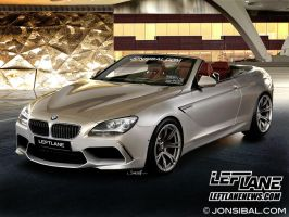 2013 BMW M6 Convertible by jonsibal
