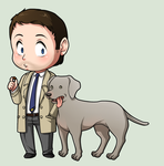 SPN Dogs #03 by NessaSan