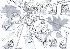 Roof Top Run Generations by Auroblaze
