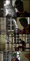 The Joker's Message to DC Comics by jettj12