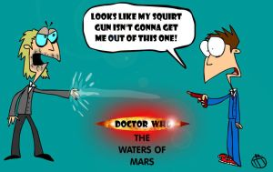 The Waters of Mars cartoon by Moon-manUnit-42