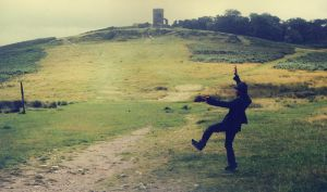 Rumpus at the Bradgate Park by dcf
