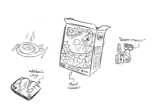 Food Concepts by FroginatorArt