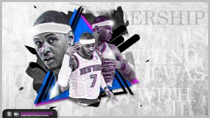 Carmelo Anthony Leadership wallpaper by michaelherradura