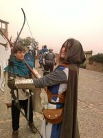Fantasy medieval live role play by Ioana-Muresan