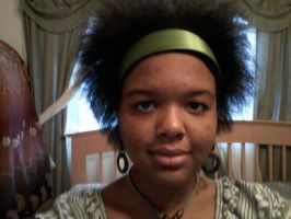 Me - Blowdried Natural Hair by ThyGoddessWithin