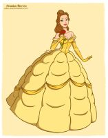 Princess Belle - Disney fan art collection by ariartna