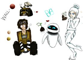 Wall-E Human Designs v2 by JediGal