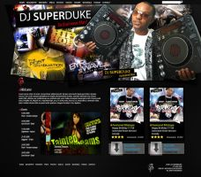 DJ SuperDuke Concept by: Metho by WebMagic