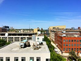 Looking out over NJIT by towerpower123